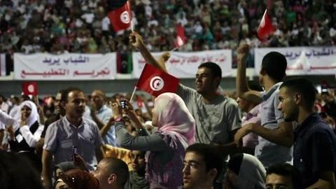 PBS NewsHour -- Tunisia Attempts Painful Transition to Democracy