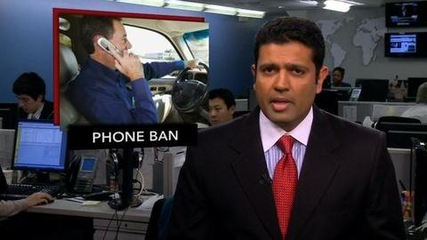 PBS NewsHour -- News Wrap: NTSB Urges Ban on Cell Phone Use While Driving