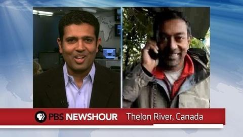 PBS NewsHour -- Thelon River Explorers Battles Storms, Harsh Winds,...
