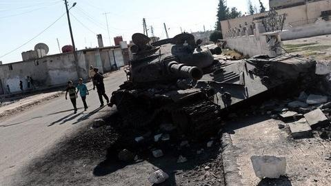 PBS NewsHour -- U.N. Monitors Exit Syria, Failing to Stop Bloodshed