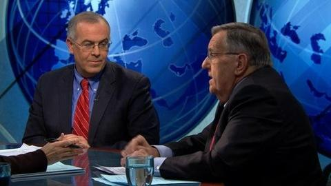 PBS NewsHour -- Shields and Brooks on Super Committee Gridlock, Cain's...