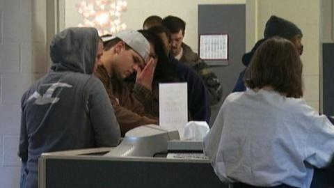 PBS NewsHour -- Stubbornly High Jobless Rate Offers Little Hope to...