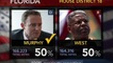 PBS NewsHour -- U.S. House Races Were Quiet Compared to White House, Senate
