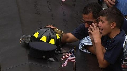 PBS NewsHour -- Around U.S. and World, Victims of 9/11 Commemorated on...