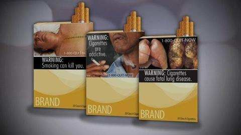 PBS NewsHour -- Cigarette Warnings Get Graphic, but Will Smokers Be...