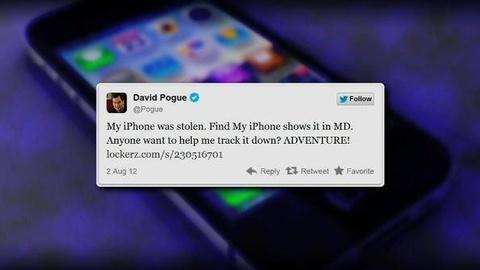 PBS NewsHour -- When Twitter Followers Can Track a Lost Phone