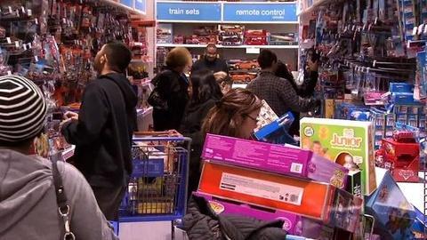 PBS NewsHour -- Retailers Kick Off Holiday Shopping Season Early