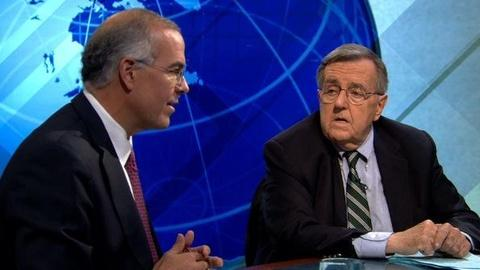 PBS NewsHour -- Shields and Brooks on Early Voting, Preparing for the Debate