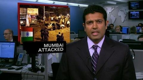 PBS NewsHour -- News Wrap: Mumbai Bombings Kill at Least 21, Wound More...