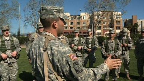 PBS NewsHour -- At Stanford, Debate Brews Over Reviving ROTC Program on...