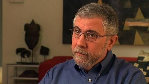PBS NewsHour -- Krugman's Solution to Fiscal Stimulus? It Involves Aliens