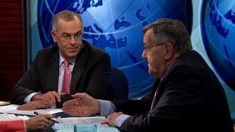 PBS NewsHour -- Shields, Brooks on Iraq Withdrawal, Gadhafi's Demise,...