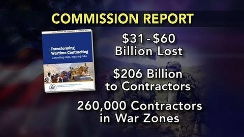 PBS NewsHour -- Report Finds Fraud, Waste by War Contractors Costs Billions
