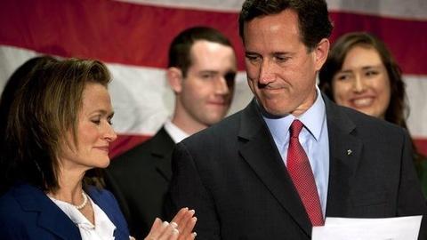 PBS NewsHour -- Santorum Bows Out: What's Next for Him, Obama, Republicans?
