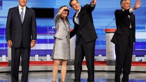 PBS NewsHour -- How Will Iowa Straw Poll Shape GOP Field?