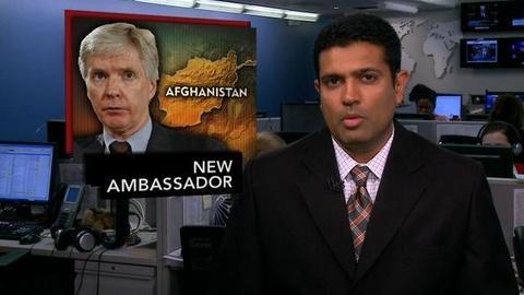 PBS NewsHour -- News Wrap: Crocker Sworn in as New Ambassador to Afghanistan