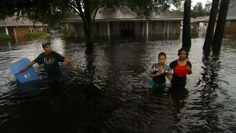 PBS NewsHour -- Surveying the Aftermath of Tropical Storm Isaac
