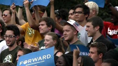 PBS NewsHour -- Will Crucial Youth Vote Return to Polls for Obama in 2012?