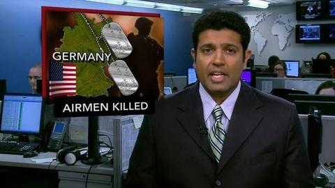 PBS NewsHour -- News Wrap: Gunman Kills 2 U.S. Airmen, Wounds 2 at German...