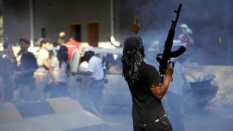 PBS NewsHour -- Tripoli Sees a Mix of Jubilation, Volatility, Calm as...