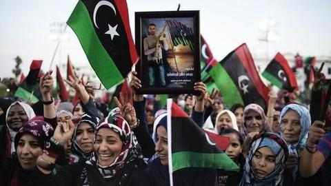 PBS NewsHour -- 'However Joyous,' New Libya Faces Rivalries, Problems to...