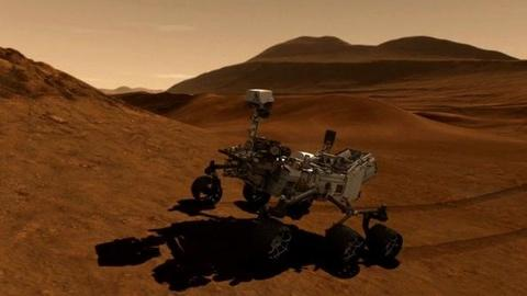 PBS NewsHour -- Mission to Mars: Anticipating NASA Rover Touchdown