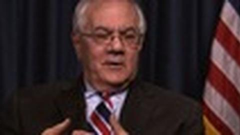 PBS NewsHour -- Exit Interview: Barney Frank on Successes, Regrets, Future