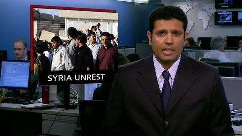 PBS NewsHour -- News Wrap: At Least 7 Killed in Syria as Army Deploys to...