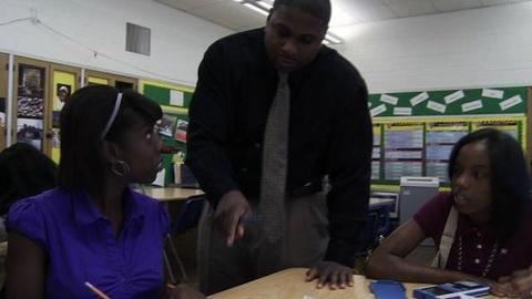 PBS NewsHour -- Detroit Tackles Dropout Crisis By Engaging Students, Parents