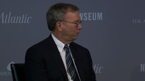 PBS NewsHour -- Google's Schmidt on Questions Surrounding Search Rankings
