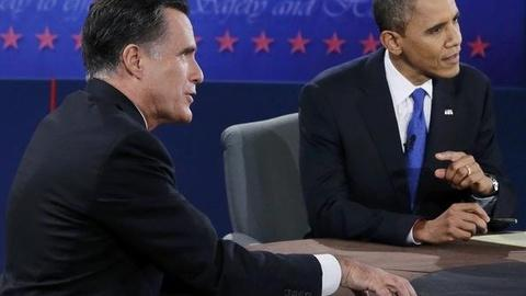 PBS NewsHour -- From 'Apology Tour' to Bayonets: Fact-Checking the Debate