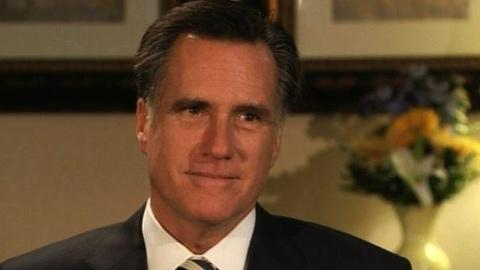 PBS NewsHour -- Republican Presidential Candidate Mitt Romney Sits Down...