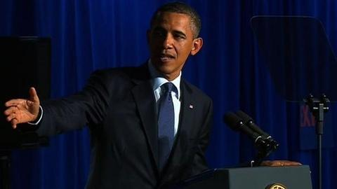 PBS NewsHour -- Obama Pledges to Grow Economy as New Faces Join GOP...