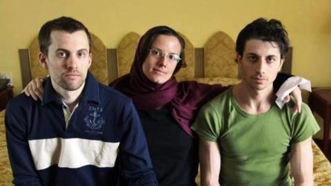 PBS NewsHour -- American Hikers Free After 2 Years in Iranian Prison