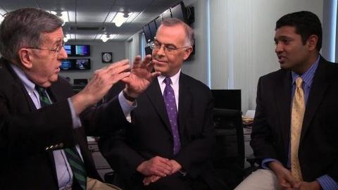 PBS NewsHour -- Shields, Brooks on Gas Prices, March Madness