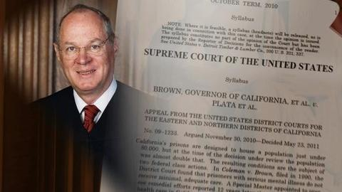 PBS NewsHour -- Divided High Court Orders Calif. to Ease Overcrowding in...