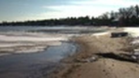 PBS NewsHour -- Problems Wash Ashore as Lake Michigan's Water Level Hits Low