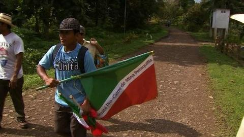 PBS NewsHour -- In Panama, 'New Conquistadors' Protest Canadian Copper Mines