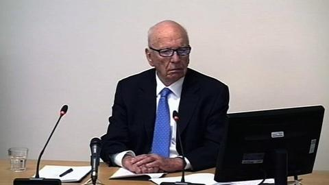 PBS NewsHour -- For Murdoch, Concerns of His Empire 'Under Serious Threat'