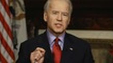 PBS NewsHour -- Vice President Biden Finds New Venue to Talk Up Gun Violence