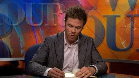 PBS NewsHour -- Josh Ritter Reads From His Novel, 'Bright's Passage'