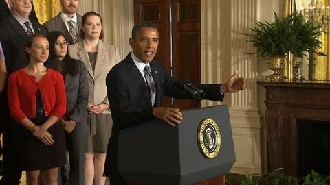 PBS NewsHour -- Obama Pushes Middle Class Tax Cut Extension