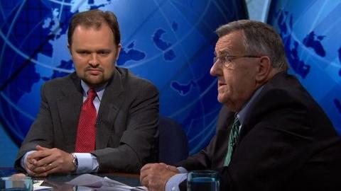 PBS NewsHour -- Shields and Douthat on Disdain for Washington After Debt...