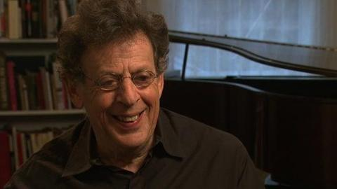 PBS NewsHour -- Extended Interview: Philip Glass