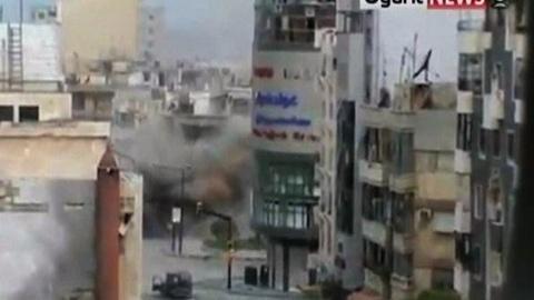 PBS NewsHour -- In Syria, Shells Rain Down Days Before Cease-Fire Deadline