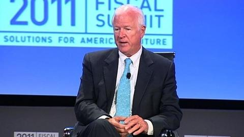 PBS NewsHour -- Gang of 5's Saxby Chambliss: Deficit Compromise Will Take...