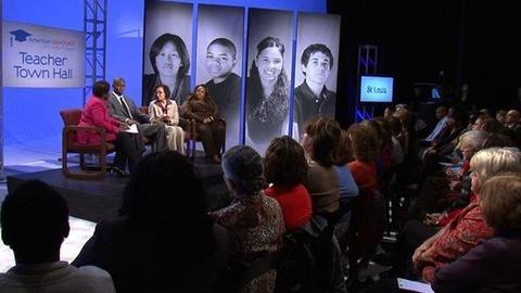 PBS NewsHour -- St. Louis Teachers Voices Struggles Over Dropouts