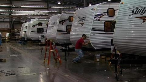 PBS NewsHour -- Indiana RV Industry's Comeback Amid An Uncertain Economy