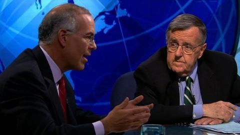 PBS NewsHour -- Shields, Brooks Wrap on 2012 Democratic National Convention
