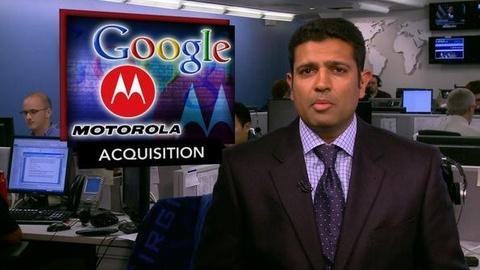 PBS NewsHour -- News Wrap: Google Plans $12.5 Billion Takeover of...